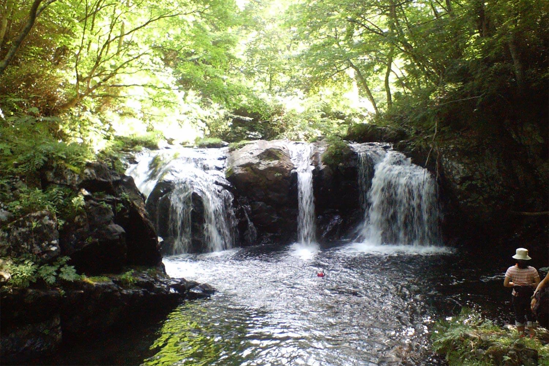 ヨドマワリの滝